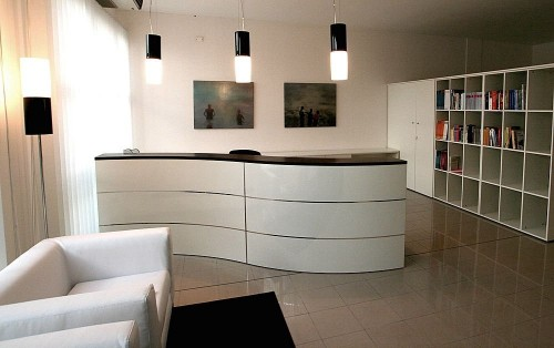Modern Office Reception Tables in Gurgaon India